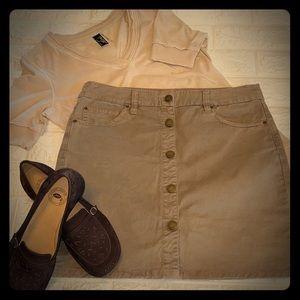 Gap | Cotton Mini Skirt | Size 6